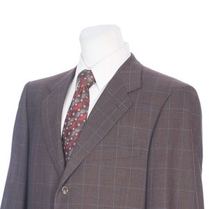 Ermenegildo Zegna Full Canvas Brown Sport Coat